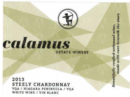 Calamus Estate Winery Steely Chardonnay