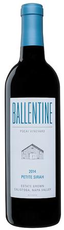 Ballentine Vineyards Petite Sirah Bottle Preview