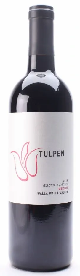 Tulpen Cellars Walla Walla Valley Merlot Yellow Bird Vineyard Bottle Preview