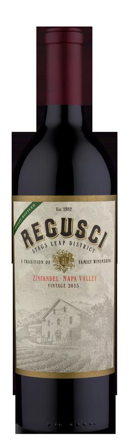 Regusci Winery Zinfandel Bottle Preview