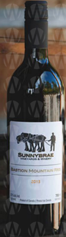 Sunnybrae Vineyards & Winery Bastion Mountain Red