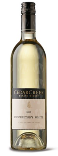 CedarCreek Estate Winery Proprietor's White