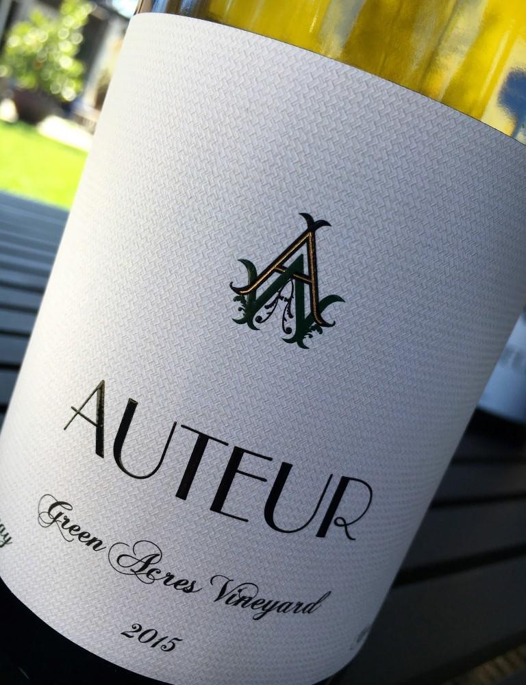 Auteur Green Acres Chardonnay Bottle Preview