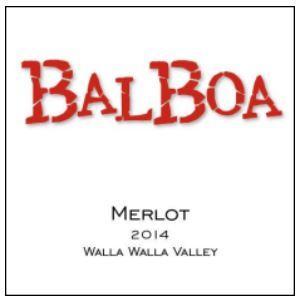 Balboa Winery Merlot Bottle Preview