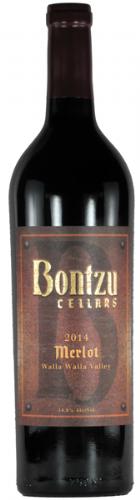 Bontzu Cellars Merlot Bottle Preview