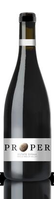 Proper Wines Estate Syrah Bottle Preview