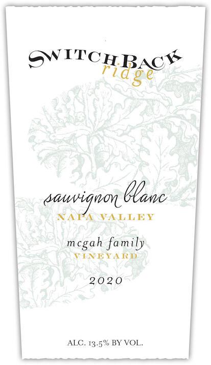 Switchback Ridge Sauvignon Blanc, McGah Family Vineyard Bottle Preview