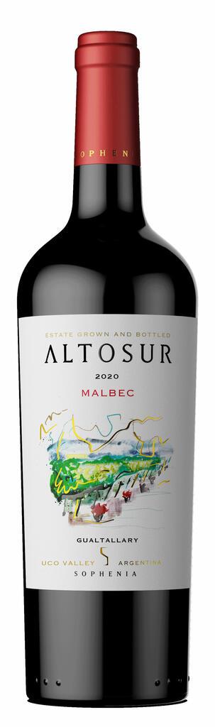 Finca Sophenia ALTOSUR Malbec Bottle Preview