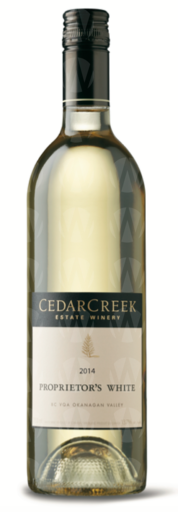 CedarCreek Estate Winery Proprietor's White