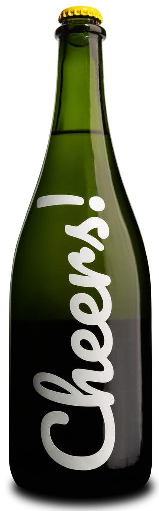 """College Cellars of Walla Walla """"Cheers"""" Sparkling Riesling Bottle Preview"""
