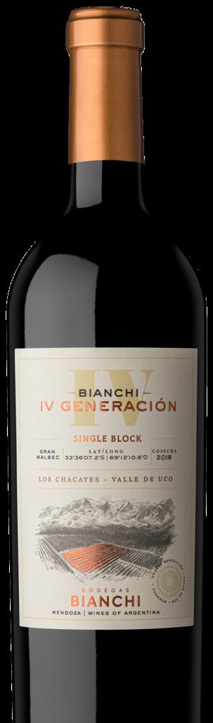 Bodegas Bianchi IV GENERACIÓN GRAN MALBEC Bottle Preview