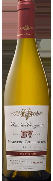 Beaulieu Vineyard BV Maestro Collection Chardonnay Ranch No. 8 Carneros Bottle Preview