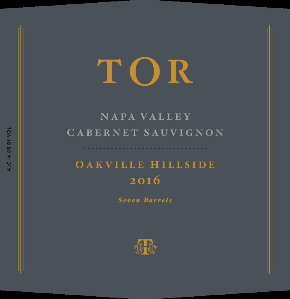 TOR Wines Oakvillle Hillside Bottle Preview