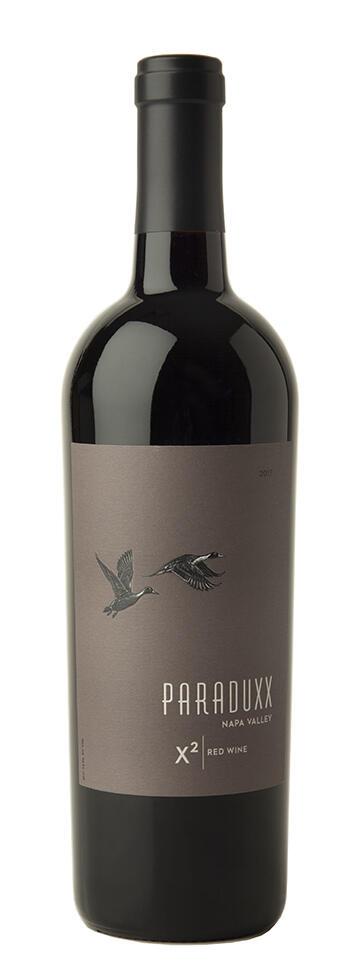 X2 Napa Valley Red Wine Bottle