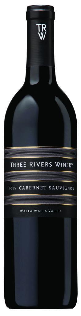 Three Rivers Winery Walla Walla Cabernet Sauvignon, Seven Hills Vineyard Bottle Preview