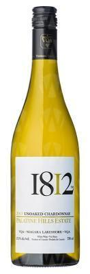 Palatine Hills Estate Winery 1812 Unoaked Chardonnay