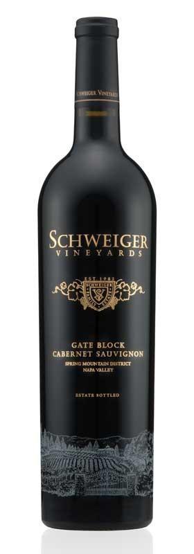 Schweiger Vineyards Cabernet Sauvignon Gate Block Bottle Preview
