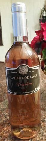 Blackwood Lane Vineyards & Winery Angelina Rose