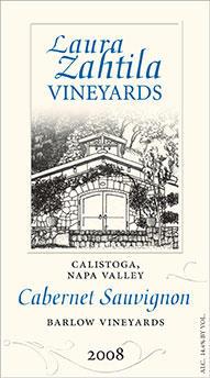 """Laura Michael Wines Cabernet Sauvignon """"Barlow Vineyards"""" Bottle Preview"""