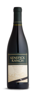 Kenefick Ranch Winery Petite Sirah Bottle Preview