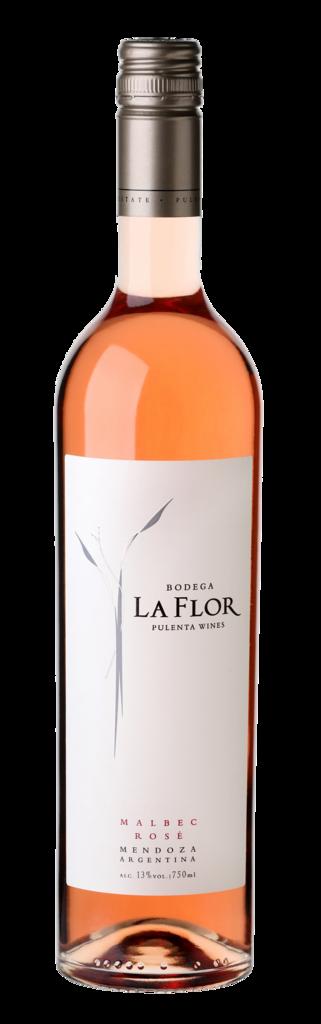 La Flor Malbec Rosé Bottle