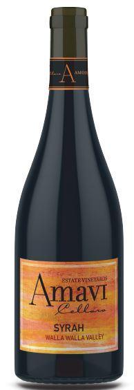 Amavi Cellars Syrah Bottle Preview