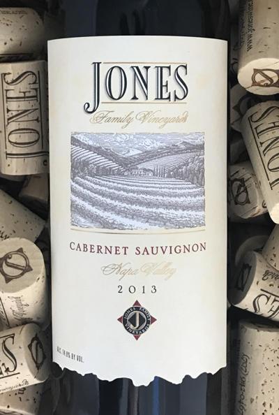 Jones Family Vineyards JONES FAMILY VINEYARDS ESTATE CABERNET Bottle Preview