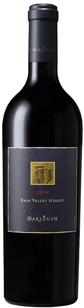 Darioush Winery SIGNATURE MERLOT, NAPA VALLEY Bottle Preview