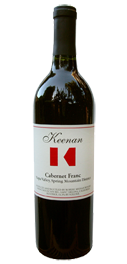Cabernet Franc, Spring Mountain Bottle