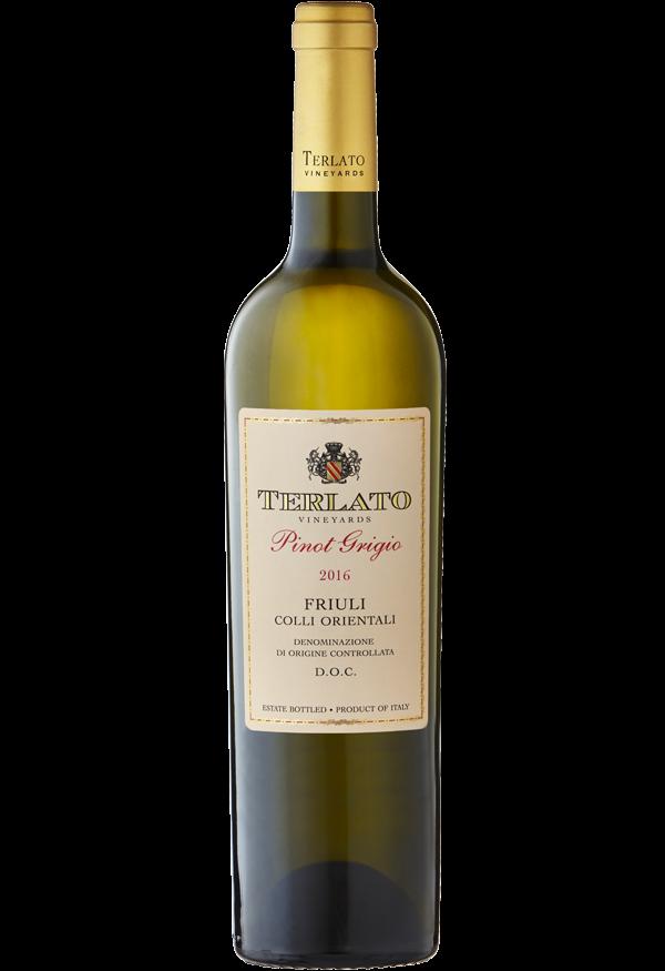 Terlato Vineyards Terlato Pinot Grigio Friuli Bottle Preview