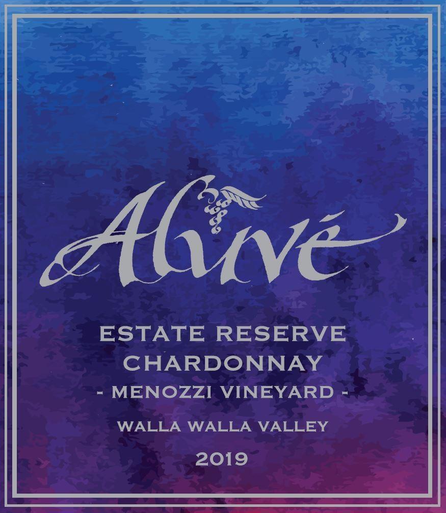 ALUVÉ Estate Reserve Chardonnay Bottle Preview