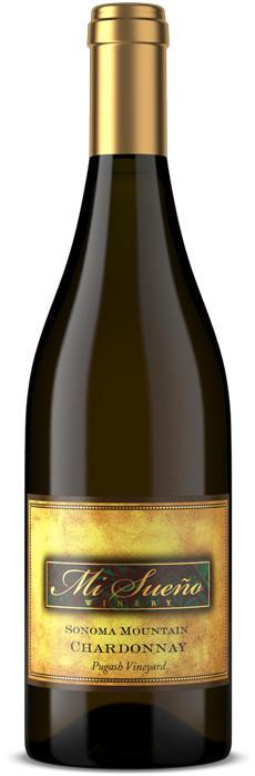 Mi Sueño Winery Sonoma Mountain Chardonnay Bottle Preview