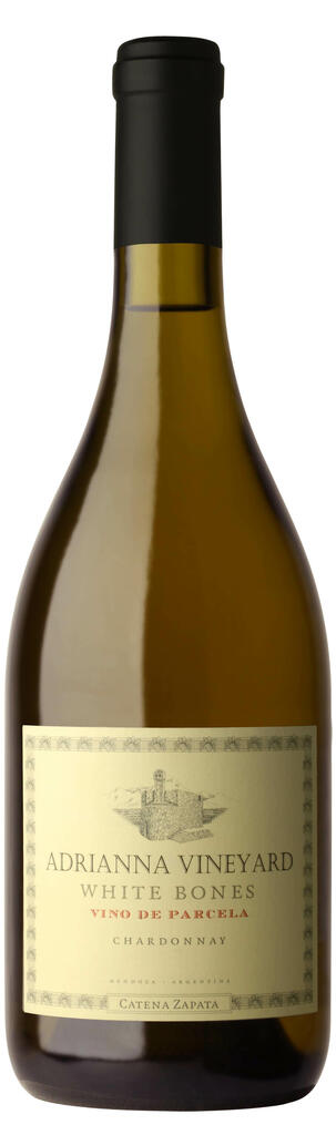 Bodega Catena Zapata Adrianna Vineyard White Bones Chardonnay Bottle Preview