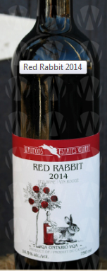 Waupoos Estates Winery Red Rabbit