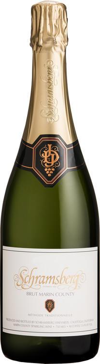 Schramsberg Vineyards Brut Marin County Bottle Preview