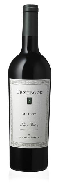 Textbook Merlot Bottle