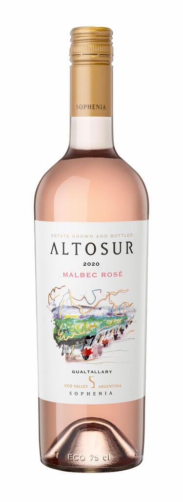 Finca Sophenia ALTOSUR Malbec Rosé Bottle Preview