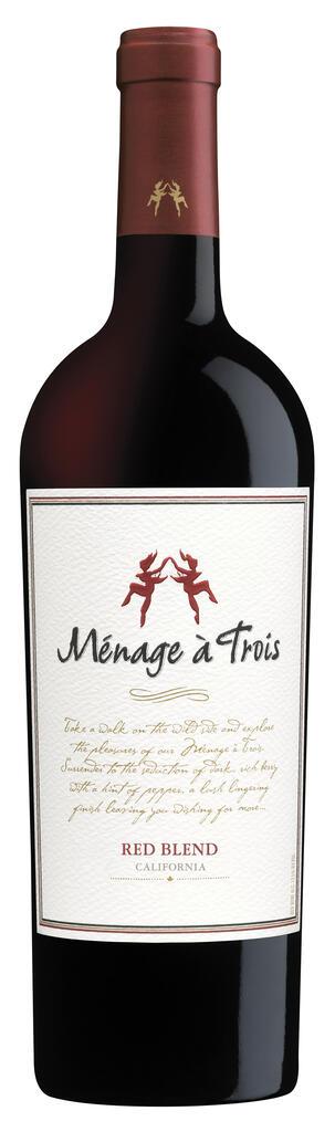 Ménage à Trois Wines Ménage à Trois California Red Wine Bottle Preview