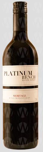 Platinum Bench Estate Winery Meritage