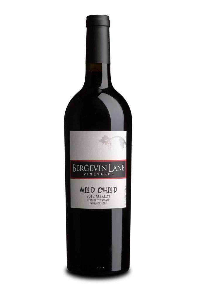 Bergevin Lane Vineyards Wild Child Merlot Bottle Preview