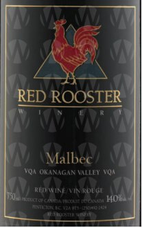 Red Rooster Winery Malbec