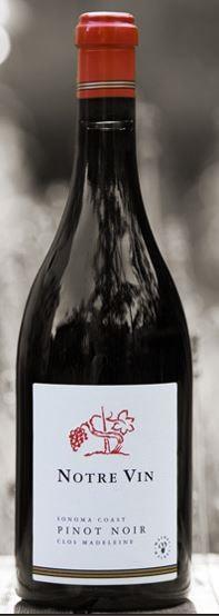 Notre Vin Clos Camille - Sonoma Coast Pinot Noir Bottle Preview