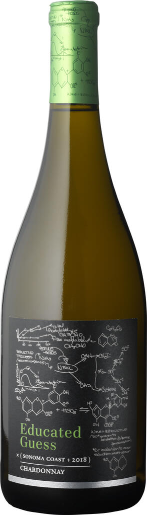 Roots Run Deep Winery Educated Guess Sonoma Coast Chardonnay Bottle Preview