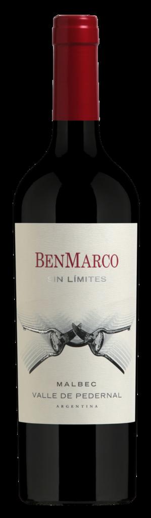 BenMarco Sin Límites Malbec Pedernal Bottle