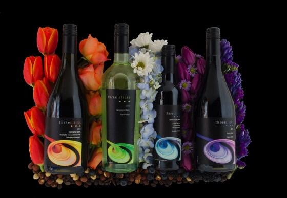 Three Clicks Wines Cover Image