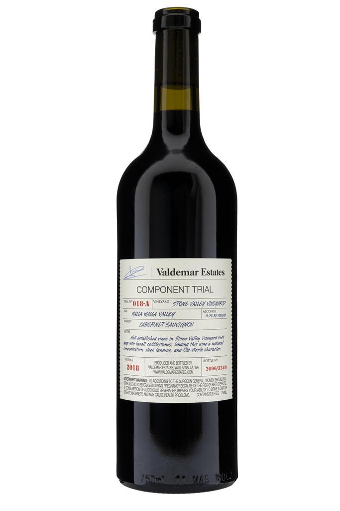 Valdemar Estates Walla Walla Cabernet Sauvignon Bottle Preview