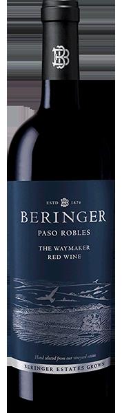 Beringer Vineyards REGIONAL ESTATES  Beringer The Waymaker Red Wine Paso Robles Bottle Preview