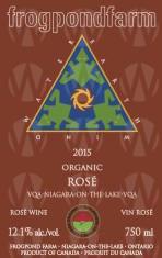 Frogpond Farm Organic Winery Rosé