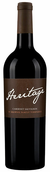 Browne Family Vineyards Heritage Cabernet Sauvignon Bottle Preview
