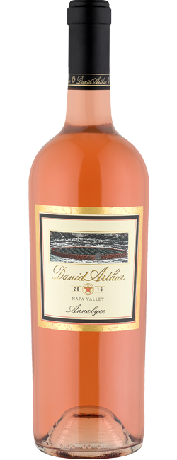 David Arthur Vineyards ANNALYCE ROSÉ Bottle Preview